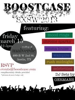 Austin Photo Set: Events_Boostcase_Malvered_Mar 2013