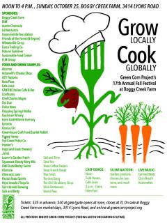 Green Corn Project Fall Festival