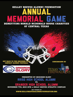Kelly Reeves Alumni Annual Memorial Game