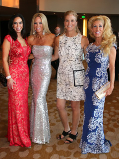 Fur Ball Co-Chairs for 2015 Jocelyn White, Stacey Kivowitz, Katy Murray and Fur Ball Chair 2016 Phyllis Comu