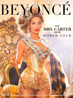 "Beyoncé in concert: ""The Mrs. Carter Show World Tour"""