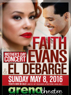 Faith Evans and El DeBarge: Mother's Day Concert