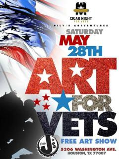 Pilysartventure presents Art For Vets