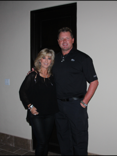 Debbie and Roger Clemens