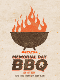Revival Public House presents Memorial Day BBQ