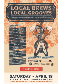 """House of Blues presents """"Local Brews, Local Grooves"""""""