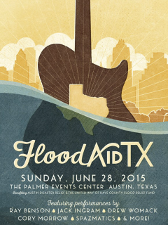 Flood Aid TX_concert poster CROPPED_2015