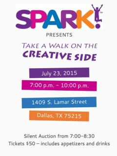 Take a Walk on the Creative Side with SPARK!