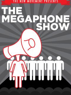 Austin photo: events_ryan_megaphone show_the new movement_mar 2013_promo