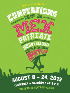 Teatro Vivo presents Confessions of a Mexpatriate
