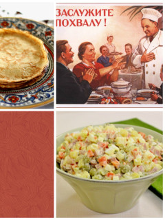 Russian Cooking class with dishes