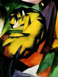 Bisong Art Gallery Tiger By Franz Marc