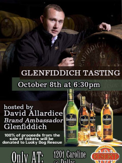 Reserve 101 to Host Spirited Tasting of Glenfiddich