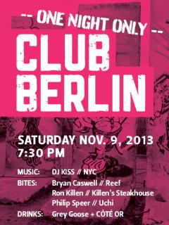 "Rice University's Baker Institute hosts ""Club Berlin"""