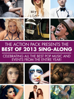 poster for the Action Pack Best of 2013 sing along dance party