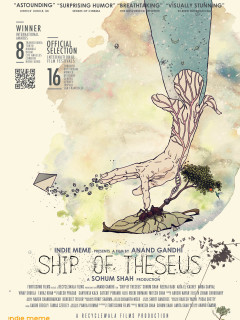 Poster for film Ship of Theseus