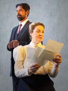 Lisa Fairchild and Alan Pollard in Dear Liar!