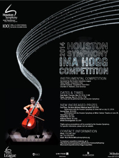 Houston Symphony ima hogg competition 2014