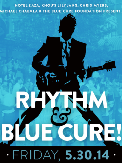 """Rhythm & Blue Cure"" Benefit Party at Hotel ZaZa"
