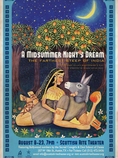 poster A Midsummer Night's Dream at Scottish Rite Theater