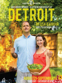 poster Detroit presented by Capital T Theatre Company