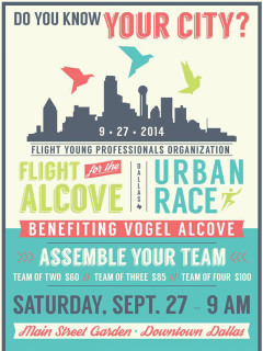 Flight for the Alcove Urban Race