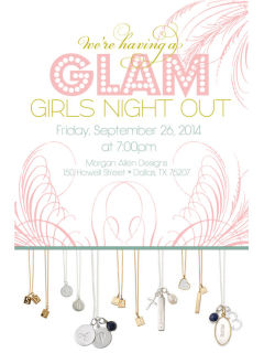 Morgan Allen Designs presents Glam Girls Night Out