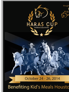 Inaugural Haras Cup benefiting Kids\' Meal Houston - Event ...