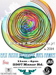 poster for East Austin Handmade Arts Market