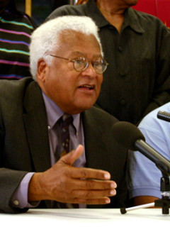 """Lecture: """"Recovering a Vision of Gandhi and His Meaning for the 21st Century"""" by Reverend James Lawson Jr."""