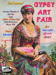 2nd Annual Gypsy Art Fair 2014