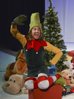 WaterTower Theatre presents The Santaland Diaries