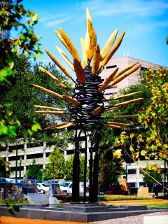 News_Market Square Park_James Surls_sculpture