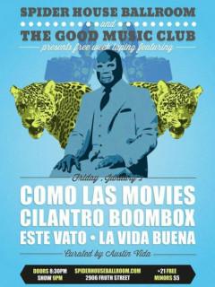 Austin Free Week_The Good Music Club_Como Las Movies_poster CROPPED_2015