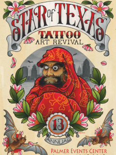 Star of Texas Tattoo Art Revival_13th Anniversary_poster CROPPED_2015