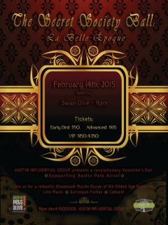 The Secret Society Ball_Austin Influential Group_Austin Pets Alive_2015