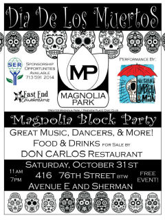 Magnolia Park Block Party