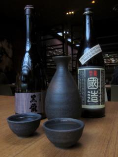 Sake Tasting and Class at Kata Robata