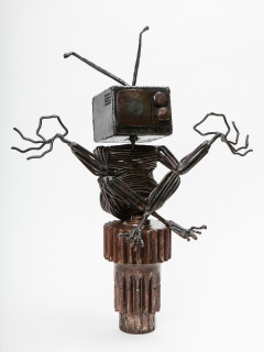 Iron Totem by Kyle Nutter_ACC Art Exhibition Spring 2015