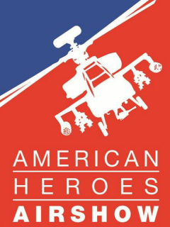 American Heroes Air Show logo 2014