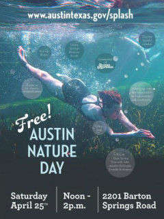 Austin Nature Day_Living Springs_Barton Springs_April 2015
