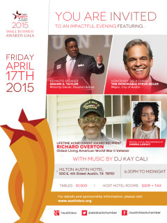 Greater Austin Black Chamber_Small Business Awards Gala_2015