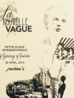 Petite Ecole Internationale_La Nouvelle Vague_fundraiser_April 2015