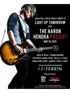 Light Up Tomorrow concert