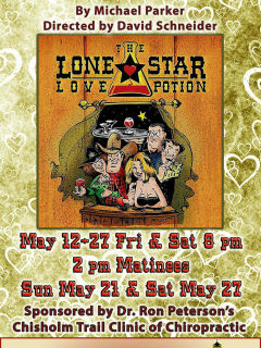 Gaslight Baker Theatre presents <i>Lone Star Love Potion</i>