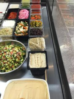 Moshe's Golden Falafel restaurant