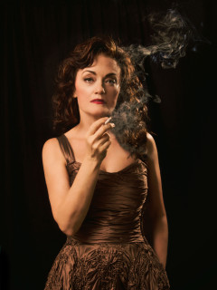 Margo Jones Theatre presents <i>All About Bette: An Interlude with Bette Davis</i> by Camilla Car