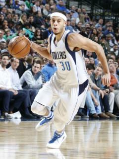 Seth Curry of Dallas Mavericks