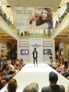 The Galleria and MD Anderson Children's Cancer Hospital present Back to School Event and Fashion Show