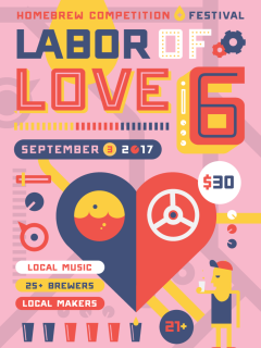 6th Annual Labor of Love Homebrew Festival